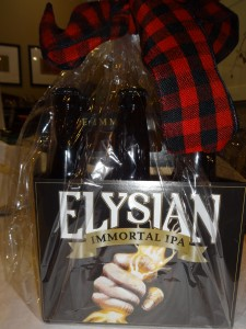 Immortal brew from Elysian, exactly what a Viking drinks!