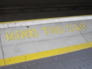 Cross the yellow line at your own risk.