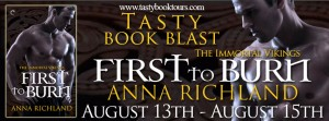 Tasty Book Tour Aug. 13 - 15. Click to sign up.