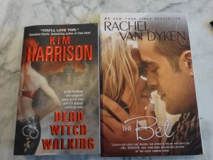 Win free romance books about Seattle and Cincinnati by Kim Harrison